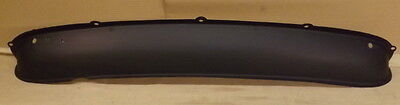 CLASSIC MINI REAR VALANCE PANEL WITH MOUNTING HOLES FOR FOG LAMP  40-10-68-1