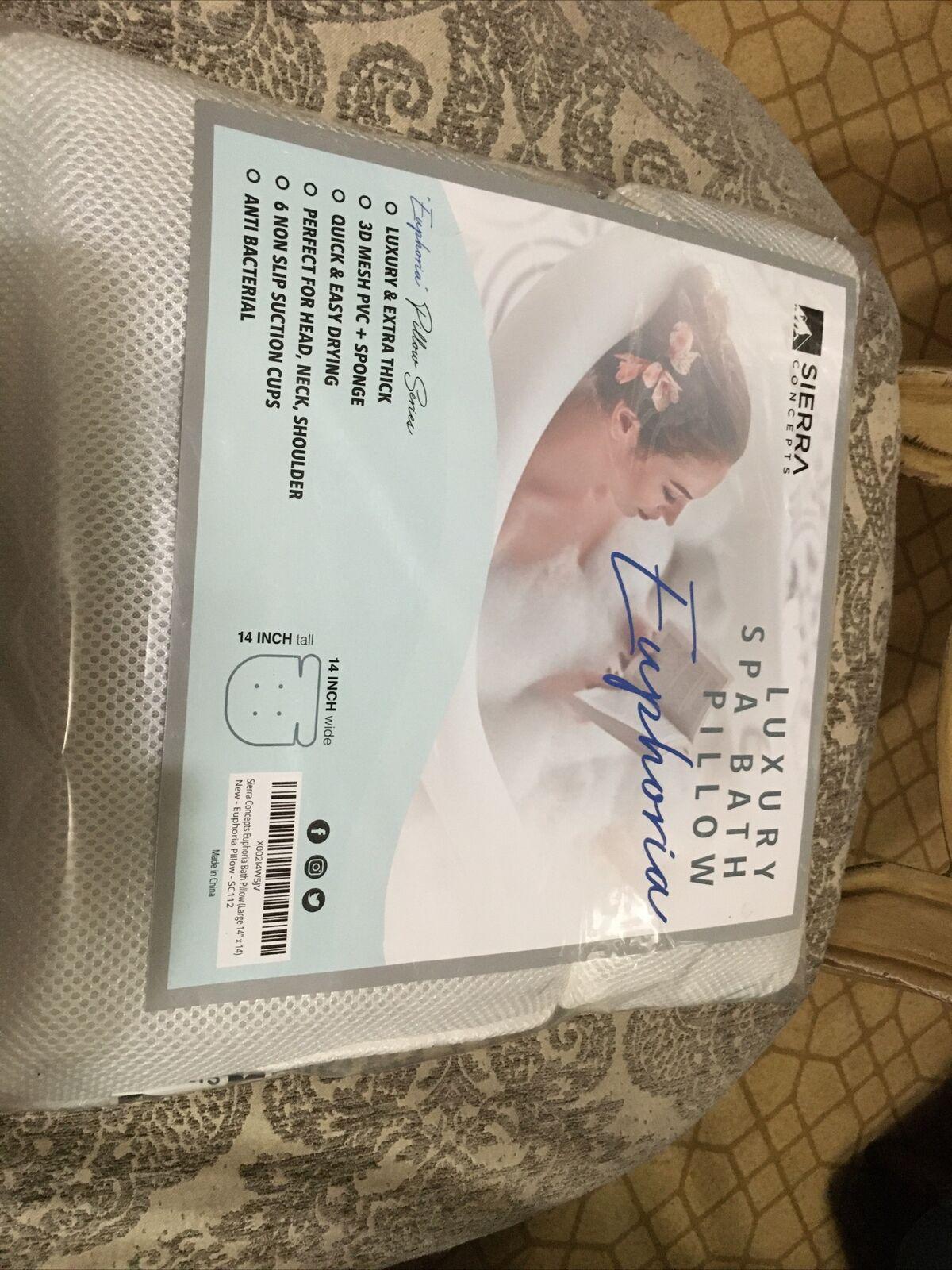 #A1 Sierra Concepts Bliss Luxury Spa Bath Pillow for Bathtub (14