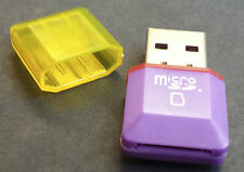Lector de tarjetas USB para teléfono móvil mini 2.0 Micro SD TF / ordenador