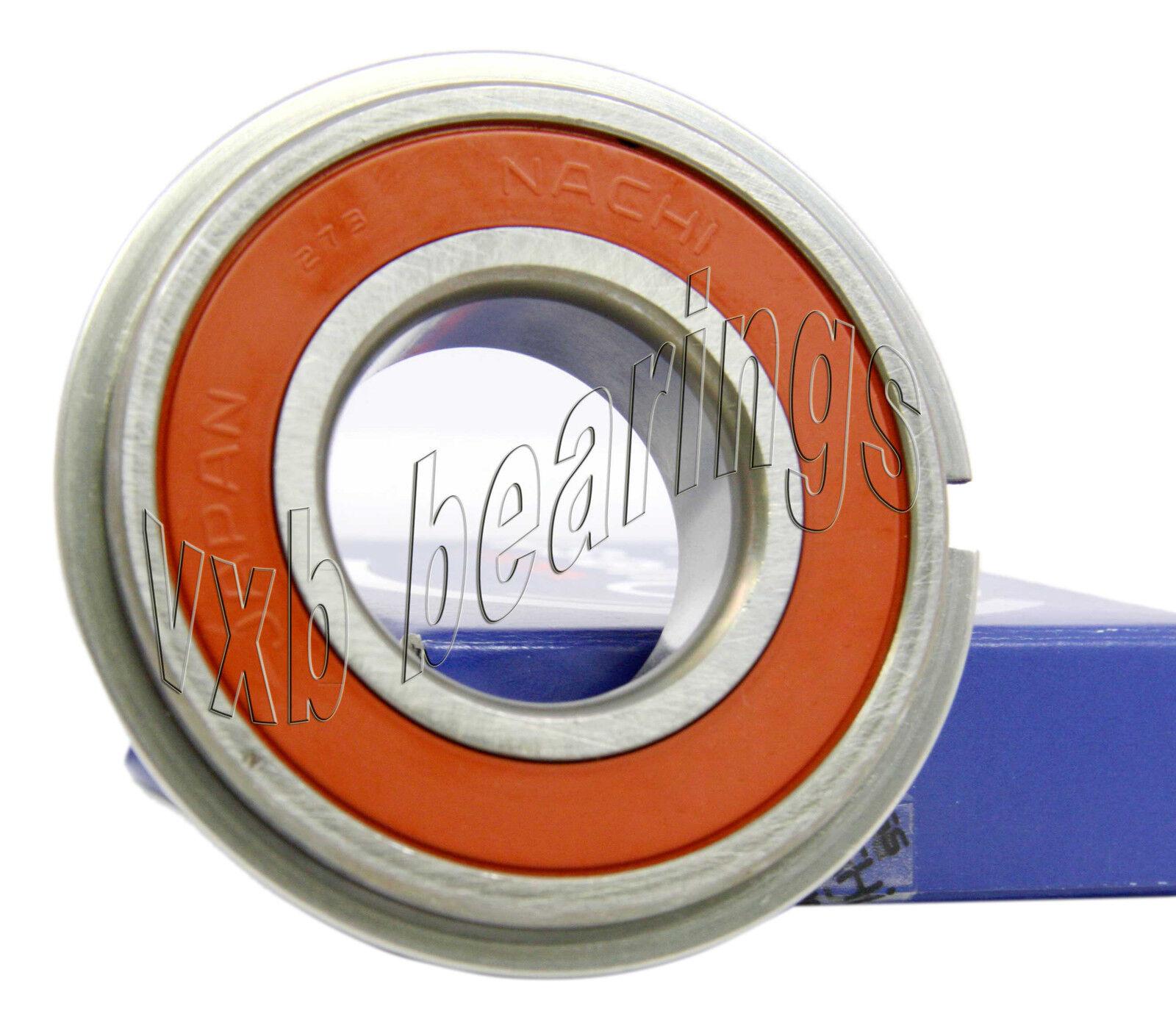 6213NR Nachi C3 Snap Ring Japan 65mm x 120mm x 23mm Ball Bearings