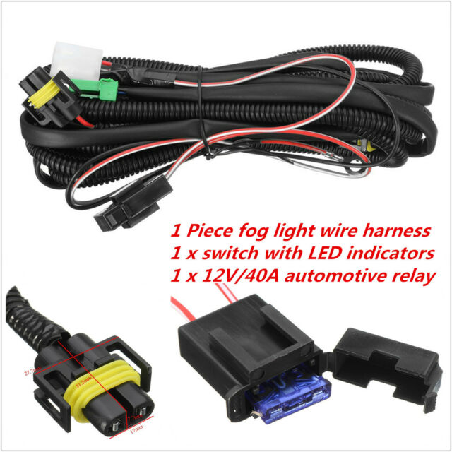 Buy H11 Fog Light Wiring Harness Sockets Wire LED Indicators Switch H Fog Light Wiring Harness on fog light yellow paint, fog light bracket, fog lights kit chevy, fog light resistor, camaro fog light harness, pontiac g6 low beam harness, speed sensor harness, motor harness, fog light bumper, fog light hood, fog light grille, fog light glass, fog light connectors, tail light pigtail harness, fog light computer, fog light accessories, fog lights for cars, fog light cover, fog light bulbs, fog light switches,