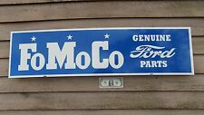 "NEW! EARLIER STYLE CLASSIC FORD ""FOMOCO"" PARTS SIGN/GARAGE/MANCAVE ART 1'X46"