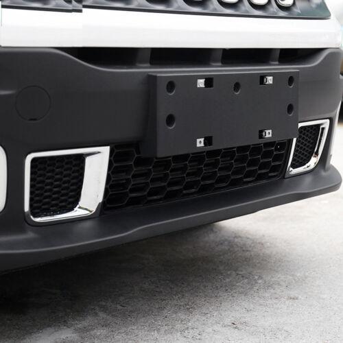 For Jeep Renegade 2015-2018 Chrome Front Bumper Air Vent Outlet Cover Trim Bezel