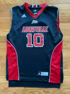 Details about #10 Louisville Cardinals NCAA Adidas Youth Basketball Jersey Size L 14-16 Boys