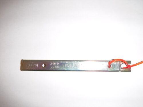22291 .030in .75MM Chain gauge depth tool