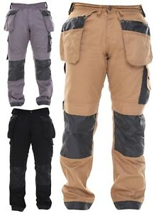combattere 30-44 Gamba 30,32.5 MEN/'s qualità tuff-stuff Workwear KNEEPAD Lavoro Pantaloni