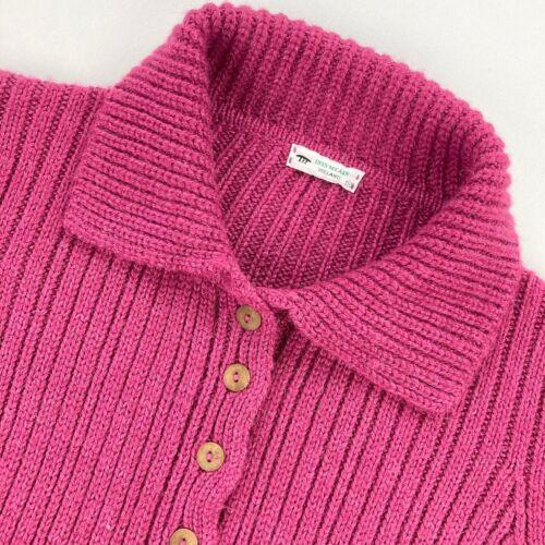 Inis Meain Women's Baby Alpaca Cardigan Sweater Ca