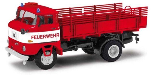 Busch 95232 - 1/87 / H0 Ifa W50 La Pv - Feuerwehr Berlin - Neu