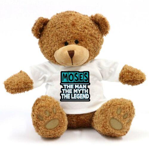 Moses The Man The Myth The Legend Teddy Bear