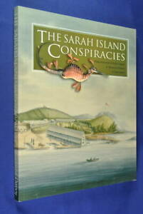 Signed-Book-THE-SARAH-ISLAND-CONSPIRACIES-Richard-Innes-Davey-TASMANIA-CONVICTS