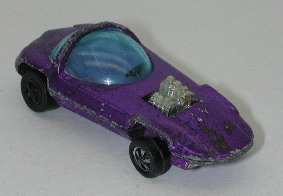 Redline Hotwheels Purple Purple Interior 1968 1968 1968 Silhouette oc15141 29e53a