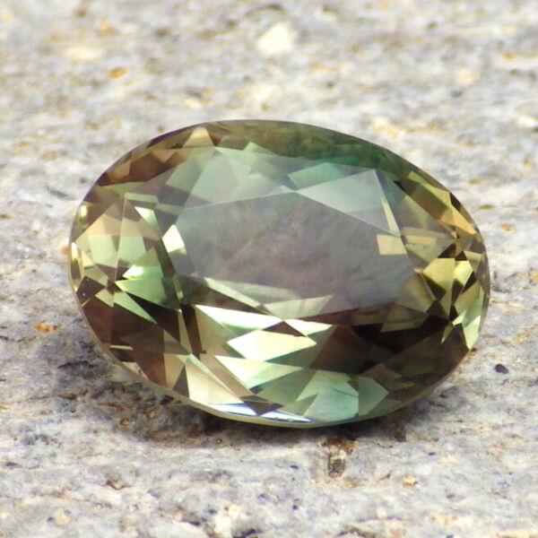 ZuverläSsig Green-teal Dichroitisch Schiller Oregon Sunstone 5.63ct Flawless-for Top Schmuck Schnelle WäRmeableitung
