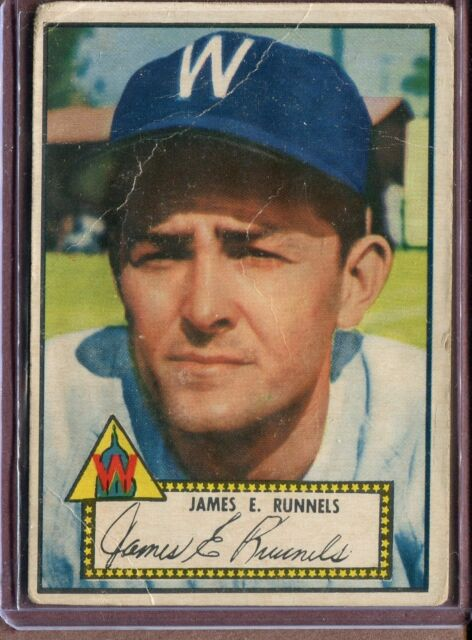 1952 Topps 2 Pete Runnels RC Red Back POOR #D102630