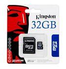 Kingston 32GB MicroSD HC MicroSDHC Memory Card 32 GB SDC4/32GB with Adapter