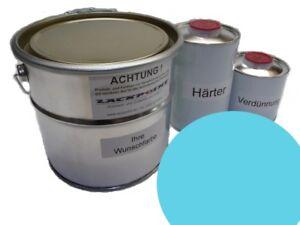 1-Litro-Kit-2k-Pintura-RDA-Azul-Cristal-TRABANT-ANILLO-DE-SAJONIA-Trabi-ifa