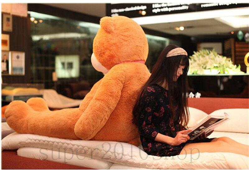 Marrone Teddy Bear Plush Soft Toys 72'' Giant Big Pillow Best Birthday Gifts 180CM