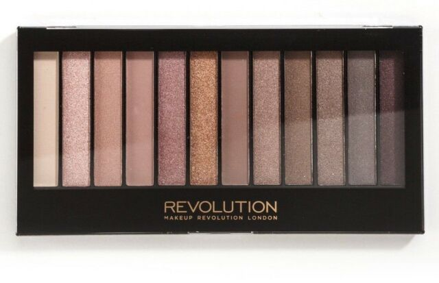 Makeup Revolution Natural Nudes Eyeshadow Palette Iconic 3