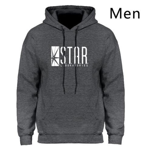 Hoodie Men Star Laboratories Comics Outdoor Pullover Hooded Sweatshirt Comic-Con