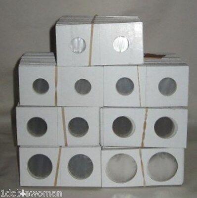 5000 Small Dollar 2x2 cardboard staple type coin holders SBA Pesident Sacagawea