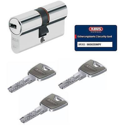 ABUS XP20S 30/70 Doppelzylinder Schließzylinder mit 3 Schlüssel mit N&G