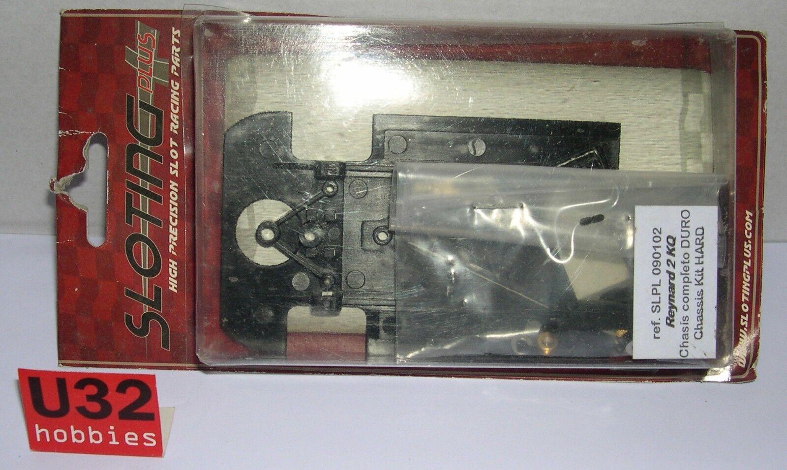 SLOTING PLUS SLPL-090102 CHASSIS REYNARD 2 KQ HARD IN BLISTER