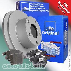 ATE Bremsenset 2 Bremsscheiben 4 Bremsbeläge VW Golf V (1K1) 253mm HINTEN VOLL