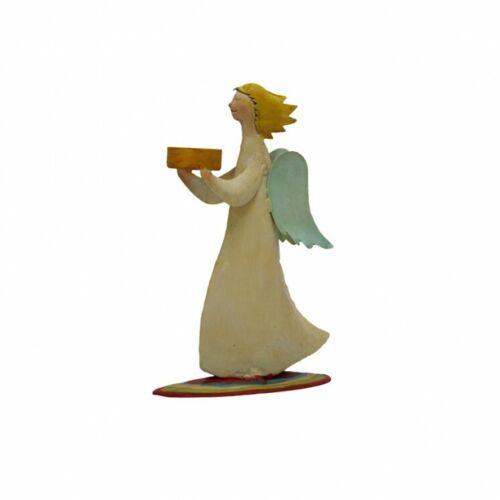 25x16cm Engel #92034 Engel Kerzenhalter Deko-Figur