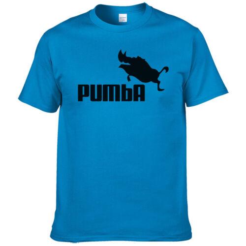 tshirt humoristique PUMBA manche courtes t-shirt plusieurs couleurs