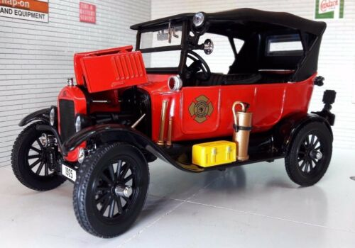 G LGB 124 Scale 1925 Ford Model T Fire Engine Railway Detailed Diecast Sunstar