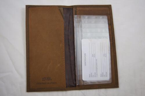 ZEP-PRO Georgia Southern University Crazy Horse Leather Roper WALLET ONLY NO BOX