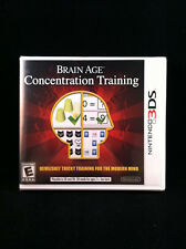 Brain Age: Concentration Training (Nintendo 3DS) BRAND NEW