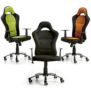 Silla de oficina sillon despacho, sillón para estudio,tipo deportivo ...