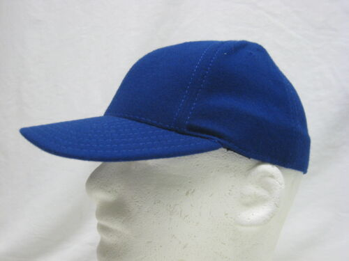NEW ROYAL BLUE HAT BALL CAP *MADE IN USA* STRETCH FITTED LARGE U15