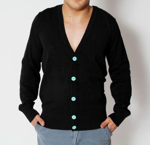 RVLT Revolution Justin Knit Cardigan Strickjacke schwarz Strick Jacke black
