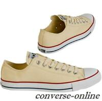 Men CONVERSE All Star CHUCK TAYLOR Cream White CORE OX Trainers Shoes SIZE UK 17
