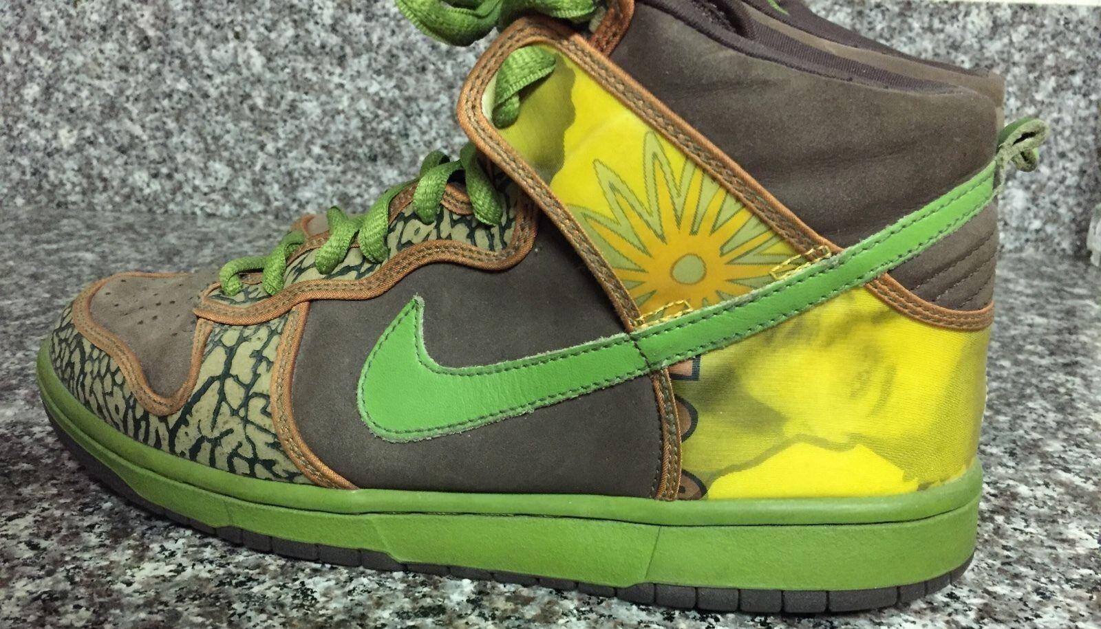 Nike SB De La Soul Dunks High (10.5) OG colorway