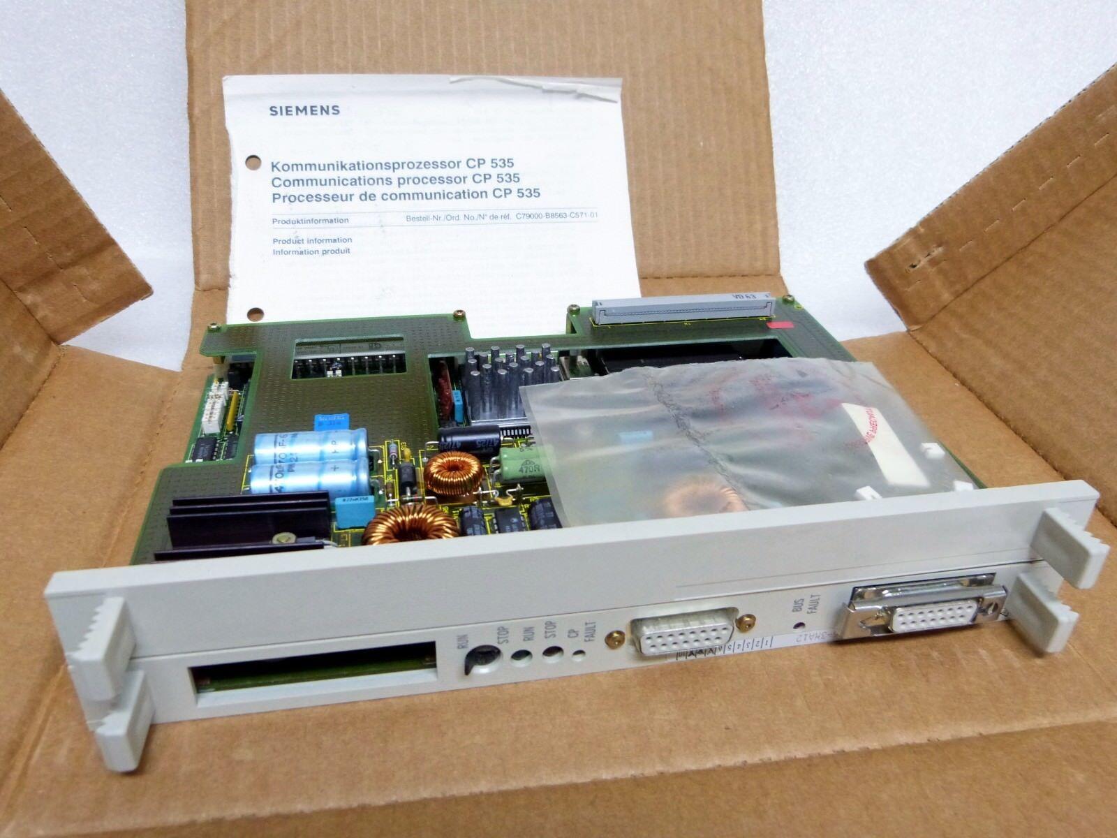 Siemens Simatic S5  6ES5 535-3MA12   OVP  CP535 Rechnung   Invoice