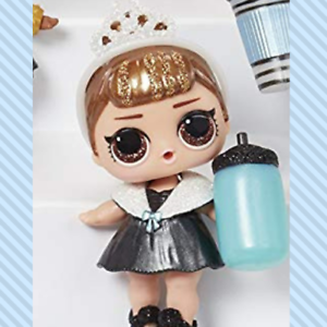 LOL Surprise Glam Glitter It Baby with accessories and ball