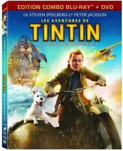 Les Aventures de Tintin Le Secret de la Licorne [Combo Blu-Ray + DVD] NEUF -V FR