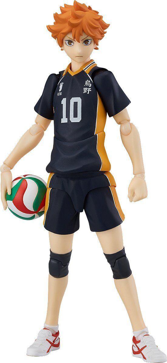 Orange Rouge Haikyu: Shoyo Hinata Figma Action Figure Japan Import