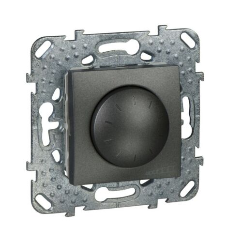 Unica Graphite variateur rotatif 40 à 1000 W VA MGU5.512.12Z