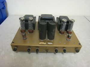 Vintage-Heathkit-aa-40-AA-40-Roehrenverstaerker-Amp-lese-Beschreibung