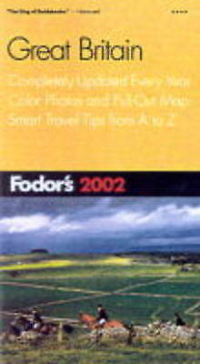 (Good)-Great Britain 2002 (Fodor's 2002) (Paperback)--0679008640