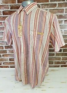 GET-LUCKY-Mens-Western-Cowboy-Short-Sleeve-Shirt-Size-XXL-2XL