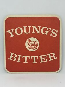 Vintage-Young-039-s-Bitter-Beer-Coaster-Bar-Decoration-Man-Cave