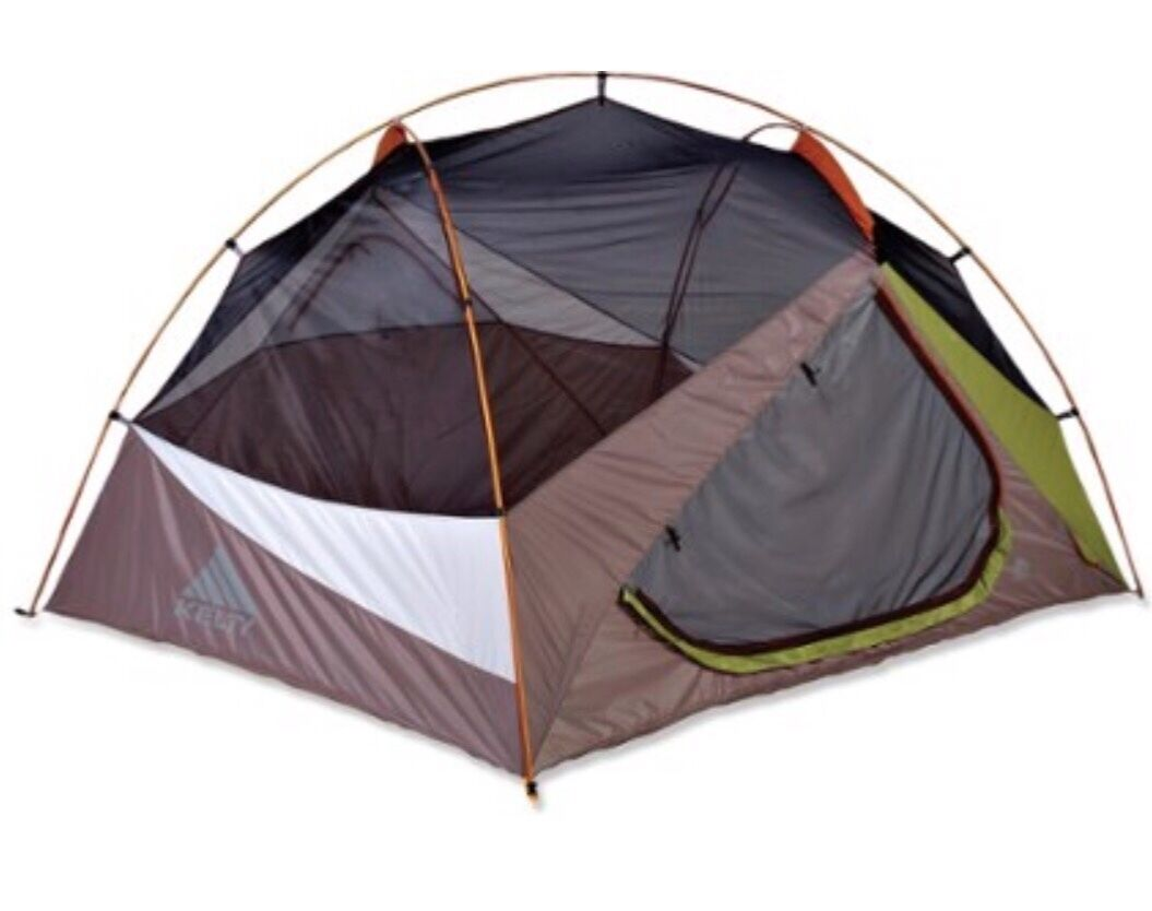 Kelty eden 4 camping  tent. 8 pound tent with two doors 5ft 5in in height.  lowest whole network