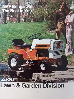 International Harvester Lawn /& Garden Tractor For 1974 Dealer/'s Brochure TEIN