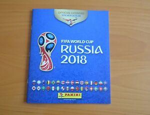 PANINI WORLD CUP RUSSIA 2018 FULL SET OF 682 STICKERS + EMPTY ALBUM+