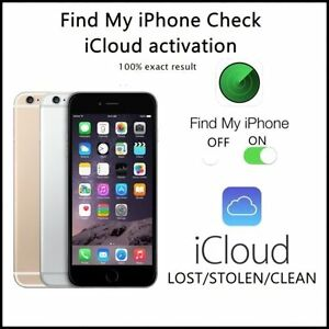 Details about iPhone FMI Check + iCloud Status + Blacklist PRO (any iPhone  around the world)
