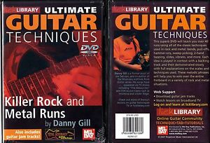 Lick-Library-Killer-Rock-and-Metal-Runs-Guitar-DVD-NEW